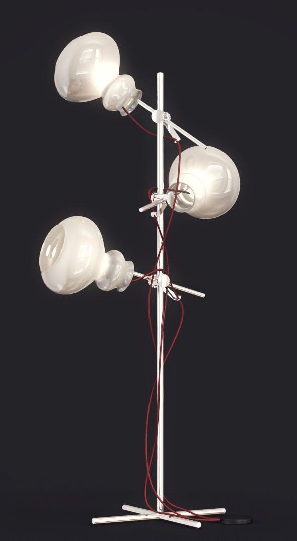 Arketipo Blob floor lamp - 3DOcean Item for Sale