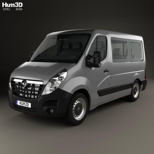 Opel Movano Passenger Van L1H1 2010