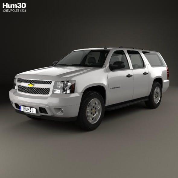 Chevrolet Suburban LT 2007 - 3DOcean Item for Sale