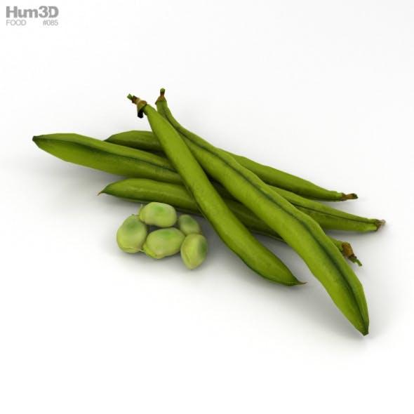 Green Bean - 3DOcean Item for Sale