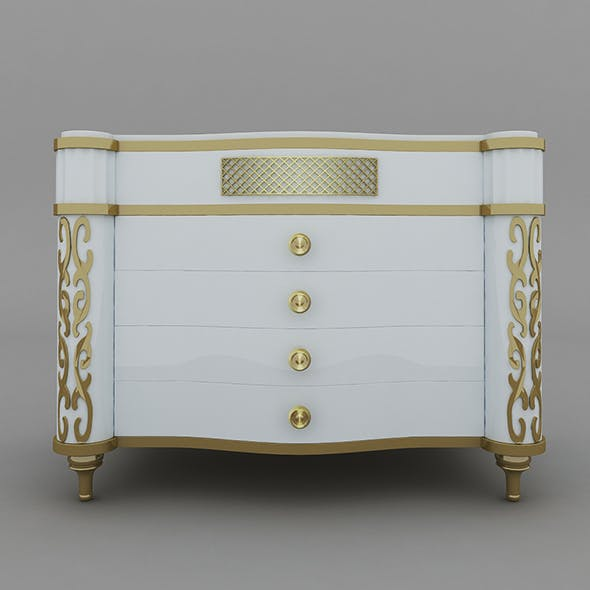 Fancy Commode - 3DOcean Item for Sale