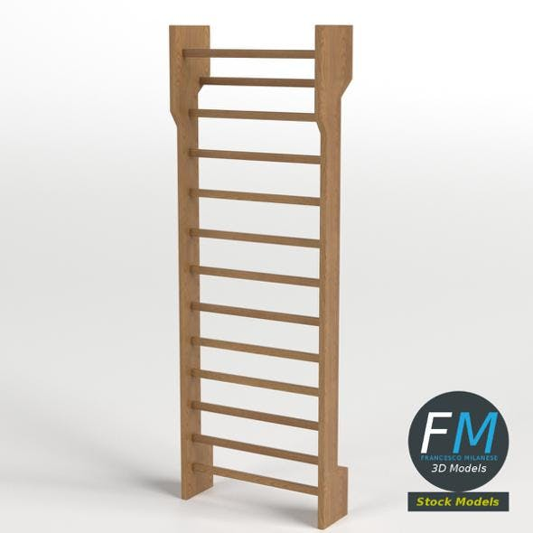 Gymnastic wall bars - 3DOcean Item for Sale