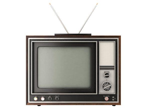 Old Color TV by ecati | 3DOcean