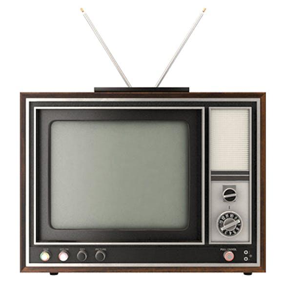 Old Color TV