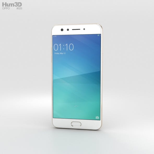 Oppo F3 Gold - 3DOcean Item for Sale