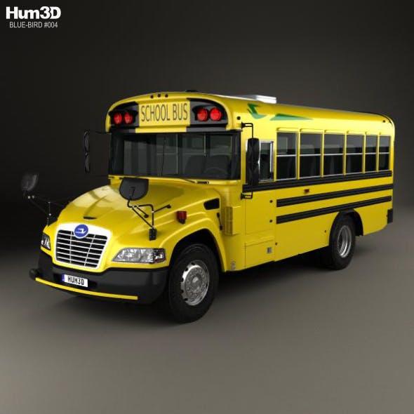 Blue Bird Vision School Bus L1 2015 - 3DOcean Item for Sale