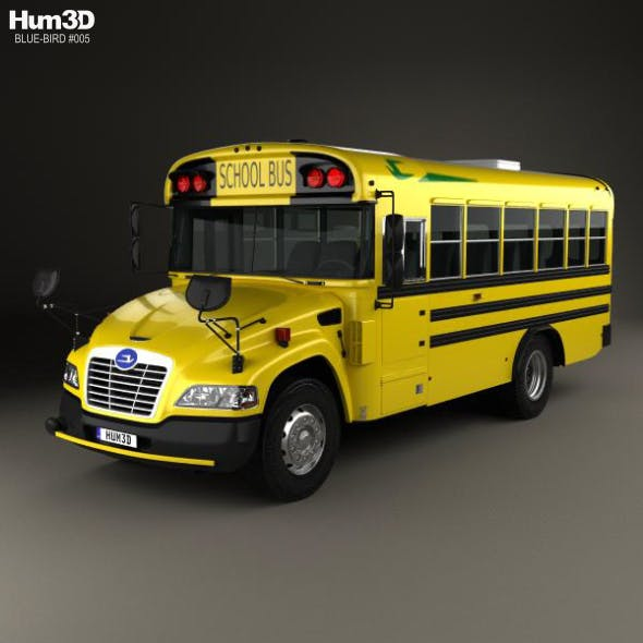 Blue Bird Vision School Bus with Wheel Chair Lift L1 2015