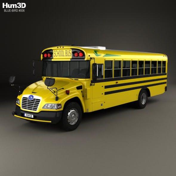 Blue Bird Vision School Bus L3 2015 - 3DOcean Item for Sale