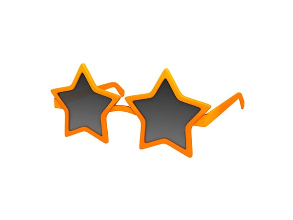 Star Sunglasses - 3DOcean Item for Sale