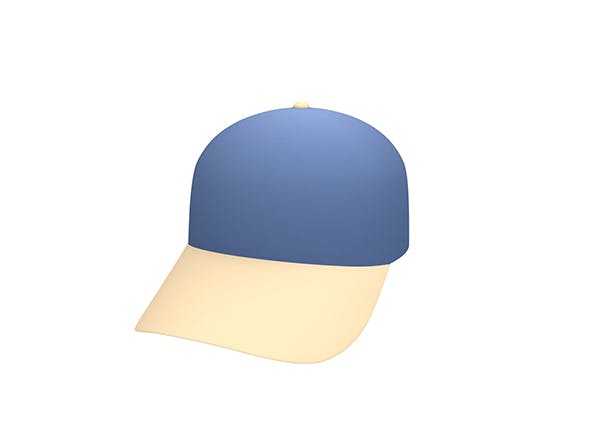 Cap Model - 3DOcean Item for Sale