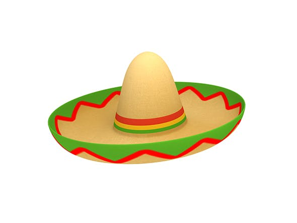 Mexican Hat - 3DOcean Item for Sale