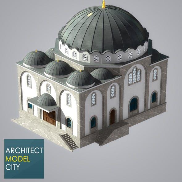 Architectural Home 3d Model OC-06 - 3DOcean Item for Sale