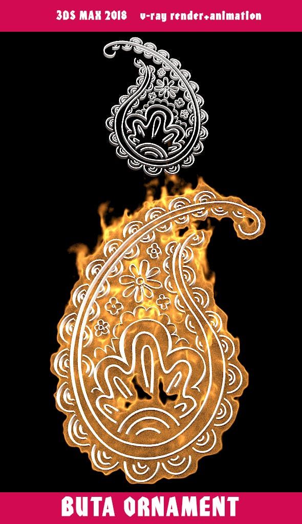 Buta ornament - 3DOcean Item for Sale
