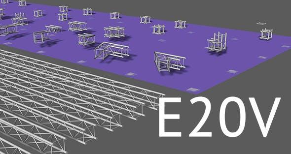 Prolyte E20V square trusses - 3DOcean Item for Sale