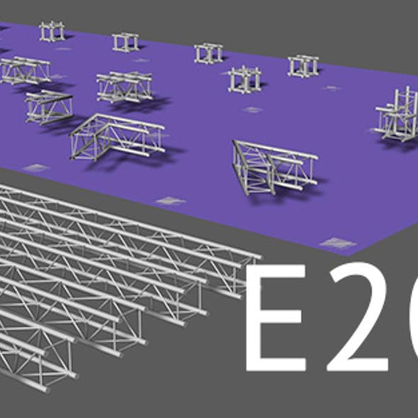 Prolyte E20V square trusses