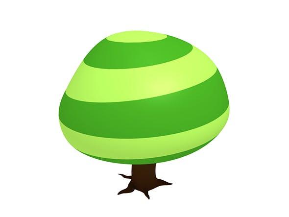 Cartoon big tree - 3DOcean Item for Sale