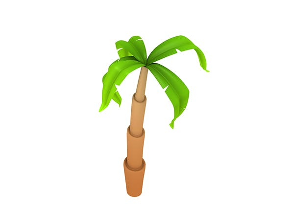 Cartoon Palm - 3DOcean Item for Sale
