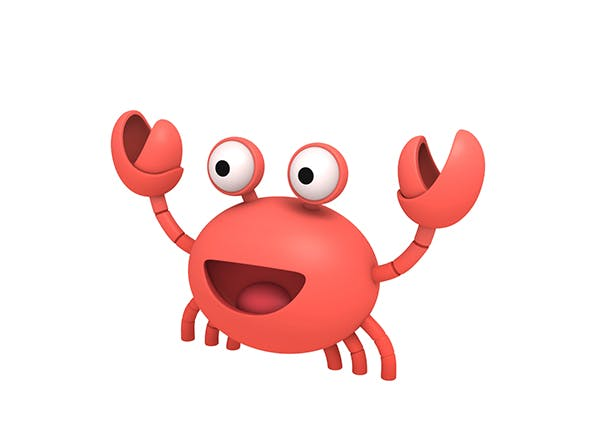 Crab Character - 3DOcean Item for Sale