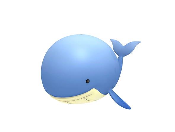 Cartoon Whale - 3DOcean Item for Sale