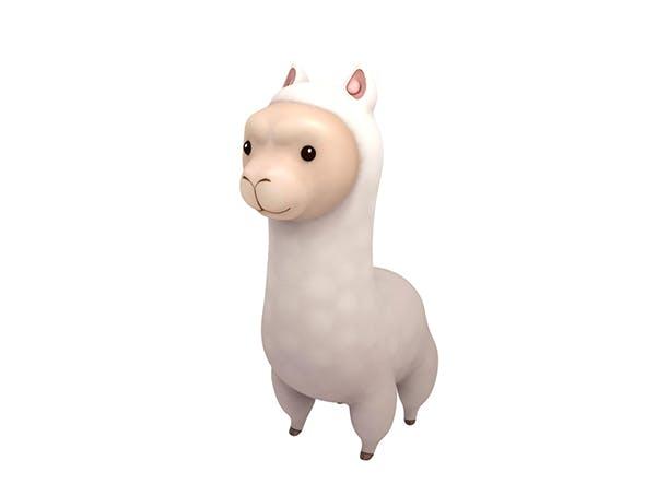 Alpaca - 3DOcean Item for Sale