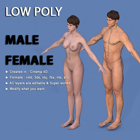 Character Male - Female
