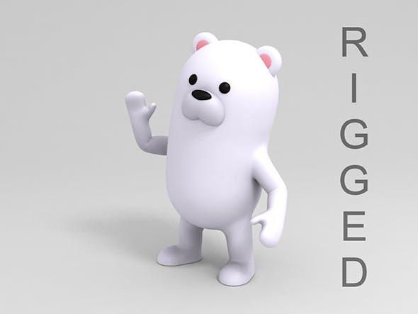 Rigged Polar Bear - 3DOcean Item for Sale