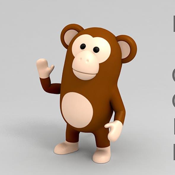 Rigged Monkey