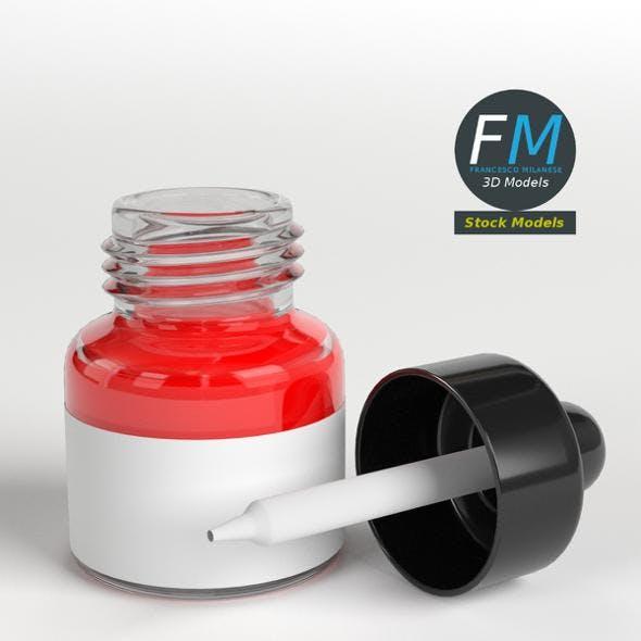 Open dropper bottle - 3DOcean Item for Sale