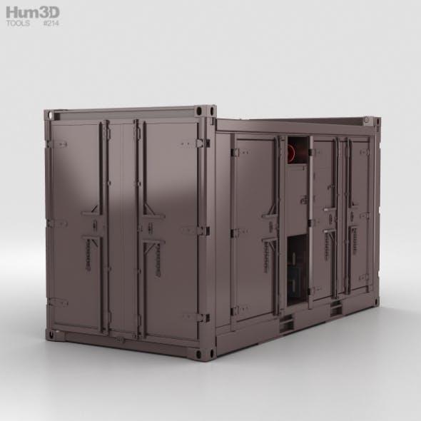 Diesel Compressor Unit