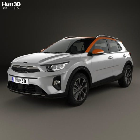 Kia Stonic 2018 - 3DOcean Item for Sale