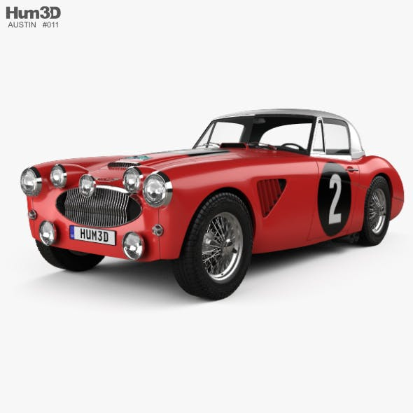 Austin Healey 3000 Alpine Rally 1962