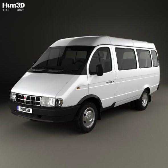 GAZ 3221 Gazelle Passenger Van 1996 - 3DOcean Item for Sale