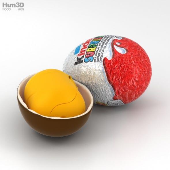 Kinder Surprise - 3DOcean Item for Sale