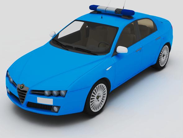 Alfa Romeo 159 Sqadra Volante - 3DOcean Item for Sale