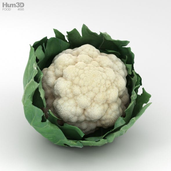 Cauliflower - 3DOcean Item for Sale