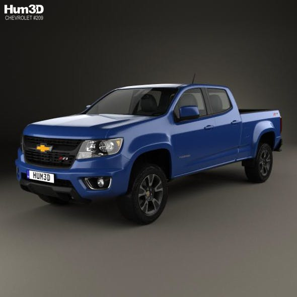 Chevrolet Colorado Crew Cab Long Box Z71 US-spec 2014