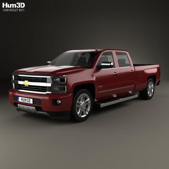 Chevrolet Silverado 2500HD Crew Cab Long Box High Country 2017