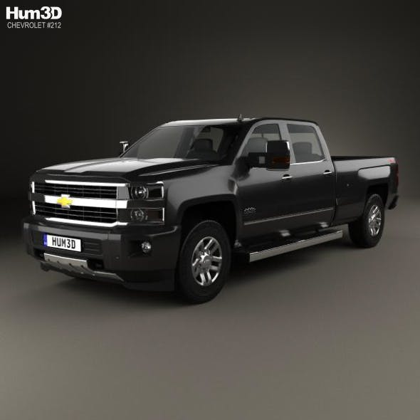 Chevrolet Silverado 3500HD Crew Cab Long Box High Country 2017