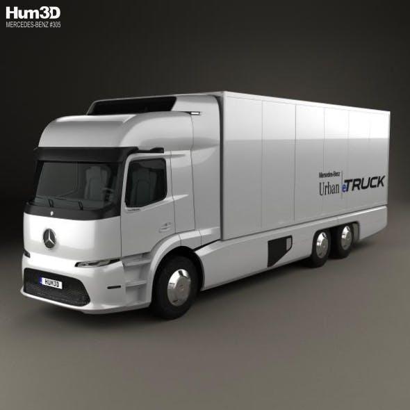 Mercedes-Benz Urban eTruck 2016 - 3DOcean Item for Sale