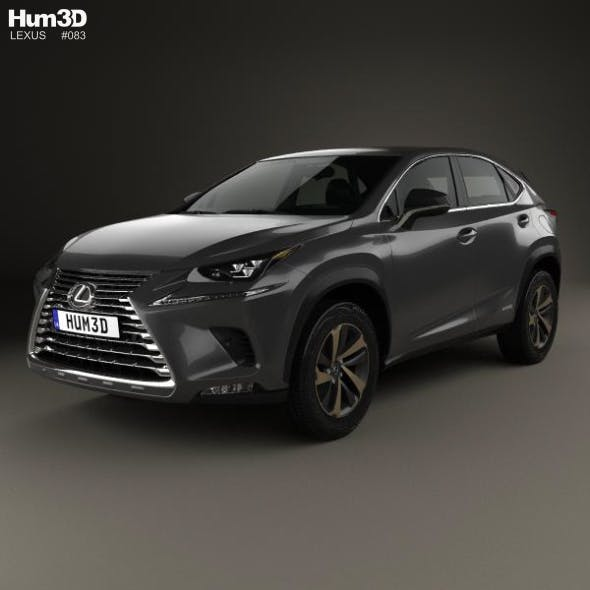 Lexus NX hybrid 2017 - 3DOcean Item for Sale