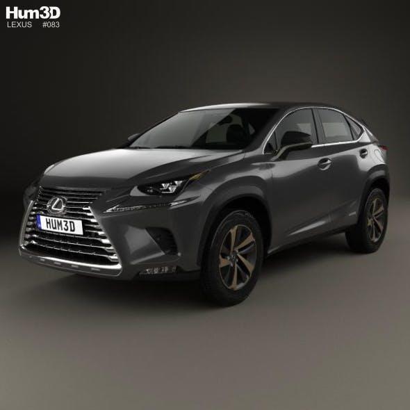 Lexus NX hybrid 2017