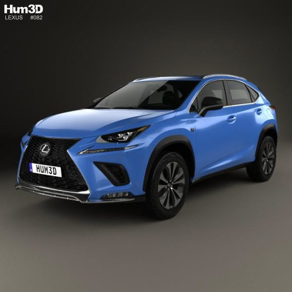 Lexus NX F sport 2017 - 3DOcean Item for Sale