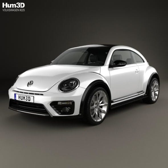 Volkswagen Beetle R-Line coupe 2016 - 3DOcean Item for Sale