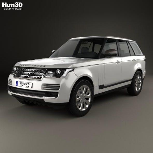 Land Rover Range Rover L405 Vogue 2014 - 3DOcean Item for Sale