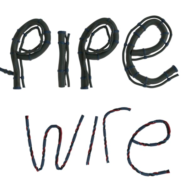 Cartoon Curves Pipes and Wires Pack