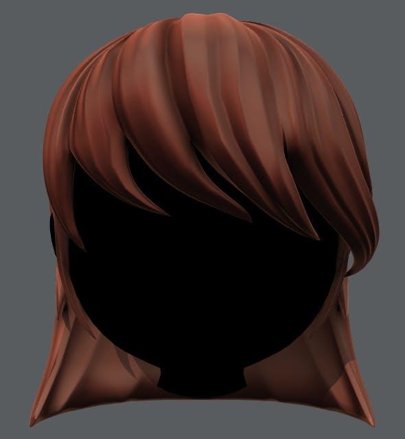 Hair 05 - 3DOcean Item for Sale