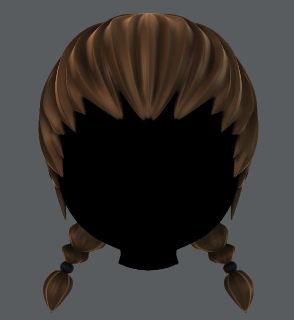 Hair 06 - 3DOcean Item for Sale