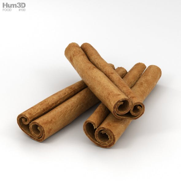 Cinnamon Sticks - 3DOcean Item for Sale