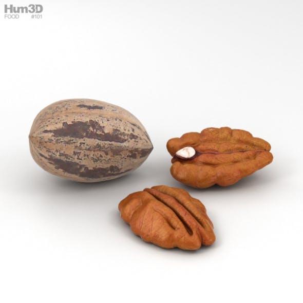 Pecan Nuts - 3DOcean Item for Sale