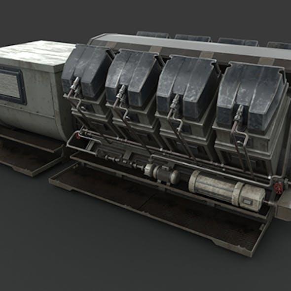Industrial device Diesel-generator